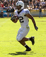 October 03, 2008: Penn State running back Evan Royster. The Penn State Nittany Lions defeated the Purdue Boilermakers 20-06 on October 03, 2008 at Ross-Ade Stadium, West Lafayette, Indiana.