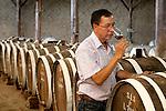 Peru, Wine Maker, Bodega Ocucaje, Winery And Vineyards, Ocucaje Desert