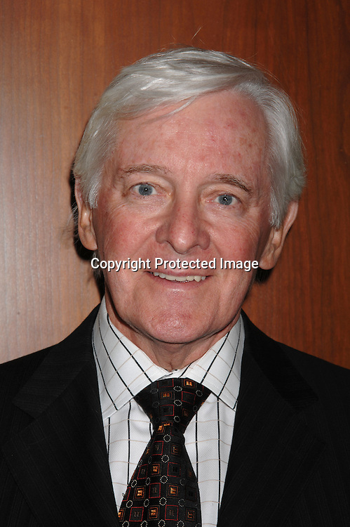 "Jim Ryan..at The League For The Hard of Hearing's ""Feast With Famous Faces"" Gala on October 23, 2006 at Pier Sixty. ..Kassie and James DePaiva were the co-chairs. ..Robin Platzer, Twin Images"