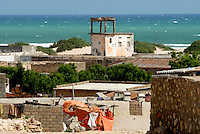 View of the coastal village of Eyl. The village is still recovering from the Tsunami in 2004, which destroyed at least 500 fishermen's houses and boats.