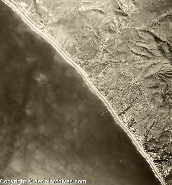 historical aerial photograph San Clemente, California, 1948