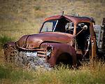Truck in Star, Montana.