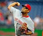 6 June 2010: Cincinnati Reds' pitcher Francisco Cordero on the mound against the Washington Nationals at Nationals Park in Washington, DC. The Reds edged out the Nationals 5-4 in a ten inning game. Mandatory Credit: Ed Wolfstein Photo