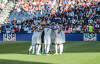 Kansas City, KS. - May 28, 2016: The U.S. Men's national team go up against Bolivia in an international friendly tuneup match prior to the opening of the 2016 Copa America Centenario at Children's Mercy Park.