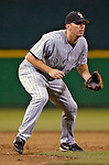 12 June 2006: Garrett Atkins, third baseman for the Colorado Rockies, watches the batter at the plate during a game against the Washington Nationals at RFK Stadium, in Washington, DC. The Rockies defeated the Nationals 4-3 in the first game of the four game series...Mandatory Photo Credit: Ed Wolfstein Photo..