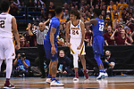 MILWAUKEE, WI - MARCH 16:  Minnesota Gophers forward Eric Curry (24) reacts to a foul call during the second half of the 2017 NCAA Men's Basketball Tournament held at BMO Harris Bradley Center on March 16, 2017 in Milwaukee, Wisconsin. (Photo by Jamie Schwaberow/NCAA Photos via Getty Images)