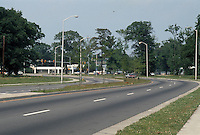 1990 June ..Redevelopment.MiddleTowne Arch..Entrance/trees from Ballentine Boulevard...NEG#.NRHA#..REDEV:Lb Pk1 1:5