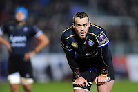 Michael van Vuuren of Bath Rugby looks on during a break in play. European Rugby Challenge Cup match, between Bath Rugby and Cardiff Blues on December 15, 2016 at the Recreation Ground in Bath, England. Photo by: Patrick Khachfe / Onside Images