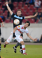 Fussball Euro League 2012/13: Stuttgart - Lazio Rom