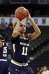 18 February 2016: Notre Dame's Brianna Turner. The Wake Forest University Demon Deacons hosted the University of Notre Dame Fighting Irish at Lawrence Joel Veterans Memorial Coliseum in Winston-Salem, North Carolina in a 2015-16 NCAA Division I Women's Basketball game. Notre Dame won the game 86-52.