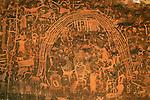 Rainbow Panel petroglyphs, Rochester Creek, Utah.