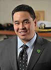 Feb. 8, 2011; Michael Hom, Alumni Counselor, Career Services, University of Notre Dame Law School...Photo by Matt Cashore/University of Notre Dame