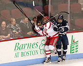 Nick Roberto (BU - 15), Andrew Gans (Yale - 11) The Boston University Terriers defeated the visiting Yale University Bulldogs 5-2 on Tuesday, December 13, 2016, at the Agganis Arena in Boston, Massachusetts.