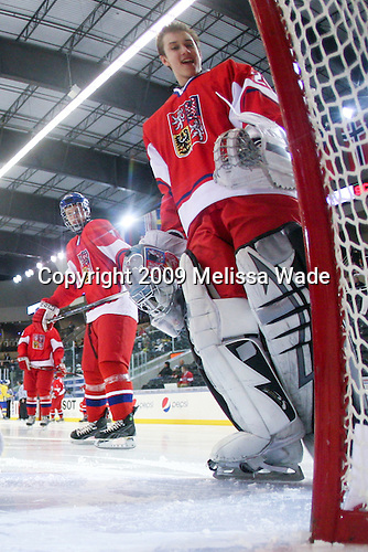 Petr Mrazek (Czech Republic - 29) - Sweden defeated the Czech Republic 4-2 at the Urban Plains Center in Fargo, North Dakota, on Saturday, April 18, 2009, in their final match of the 2009 World Under 18 Championship.