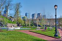 Fairmount, Waterworks Park, Phila. PA,  Buildings