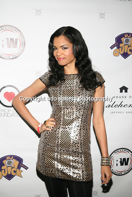 Honoree AMBRE ANDERSON at DJ Jon Quick's 5th Annual Beauty and the Beat: Heroines of Excellence Awards Honoring AMBRE ANDERSON, DR. MEENA SINGH,<br /> JESENIA COLLAZO, SHANELLE GABRIEL, <br /> KRYSTAL GARNER, RICHELLE CAREY,<br /> DANA WHITFIELD, SHAWN OUTLER,<br /> TAMEKIA FLOWERS Held at Suite 36, NY