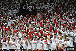 Students cheer at Ole Miss vs. Kentucky at the C.M. &quot;Tad&quot; Smith Coliseum on Tuesday, January 29, 2013.  (AP Photo/Oxford Eagle, Bruce Newman)..