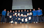 St Johnstone FC Youth Academy Presentation Night at Perth Concert Hall..21.04.14<br /> St Johnstone U14's with sponsor and coaches<br /> Picture by Graeme Hart.<br /> Copyright Perthshire Picture Agency<br /> Tel: 01738 623350  Mobile: 07990 594431