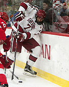 Eddie Ellis (Harvard - 7) - The Harvard University Crimson defeated the visiting Cornell University Big Red on Saturday, November 5, 2016, at the Bright-Landry Hockey Center in Boston, Massachusetts.