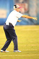 10/15/12 San Diego, CA: Denver Broncos head coach John Fox during an NFL game played between the San Diego Chargers and the Denver Broncos at Qualcomm Stadium. The Broncos defeated the Chargers 35-24.