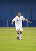 August 03 2010 Inter Milan FC defender Walter Samuel No. 25 in action during an international friendly between Inter Milan FC and Panathinaikos FC at the Rogers Centre in Toronto..Final score was 3-2 for Panathinaikos FC.