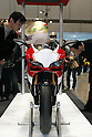 Mar 26, 2010 - Tokyo, Japan - A Ducati 1198 S is on display during the 37th Tokyo Motorcycle Show at Tokyo Big Sight on March 26, 2010. The event is the Japan's largest motorcycle exhibition and it will be held until March 28 this year. (Photo Laurent Benchana/Nippon News)