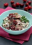 Pork with Cherry Relish