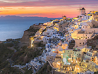 Santorini Twilight.