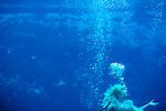 The mermaids of Weeki Wachee Springs State Park perform The LIttle Mermaid in Weeki Wachee, Florida February 12, 2010.