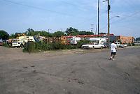 1990 June ..Conservation.MidTown Industrial..LOOKING EAST FROM 23RD & GAZEL STREET...NEG#.NRHA#..
