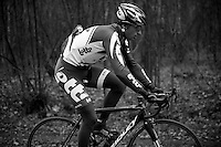 Paris-Roubaix 2012 recon..Frederik Willems