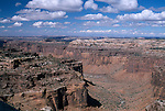Canyonlands National Park, Utah; view from Aztec Butte, looking west