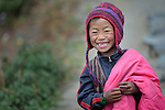 Devimaya Tamang, a 7-year old girl, lives in Gatlang, in the Rasuwa District of Nepal. <br /> <br /> Parental consent obtained.<br /> <br /> Note: This image is slightly fuzzy. It will work well for web use, but is not recommended for printing at larger sizes.