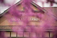 The VIroqua Food Cooperative building in downtown Viroqua Wisconsin heart of the Driftless Area.