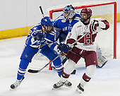 Dan Bailey (AFA - 20), Nathan Krusko (Harvard - 13), Shane Starrett (AFA - 40) - The Harvard University Crimson defeated the Air Force Academy Falcons 3-2 in the NCAA East Regional final on Saturday, March 25, 2017, at the Dunkin' Donuts Center in Providence, Rhode Island.