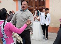 Graciela Garcia Estaban (Grace) and Rafael Marquez Perez´s wedding in the Mazahua community of San Miguel la Labor, Estado de Mexico