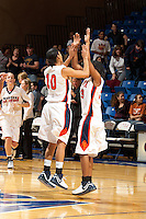 SAN ANTONIO, TX - NOVEMBER 24, 2006: The Eastern Washington University Eagles vs. The University of Texas at San Antonio Roadrunners Women's Basketball at the UTSA Convocation Center. (Photo by Jeff Huehn)