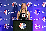 16 January 2015: Megan Oyster (UCLA) was selected with the thirteenth overall pick by the Washington Spirit. The National Women's Soccer League Draft was held at the Pennsylvania Convention Center in Philadelphia, Pennsylvania.