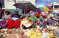 Market, Kingstown, St. Vincent, The Grenadines, Caribbean