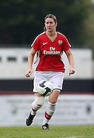 Ciara Grant of Arsenal - Arsenal Ladies vs Sparta Prague - UEFA Women's Champions League at Boreham Wood FC - 11/11/09 - MANDATORY CREDIT: Gavin Ellis/TGSPHOTO - Self billing applies where appropriate - Tel: 0845 094 6026