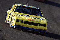HAMPTON, GA - MARCH 15: Dale Earnhardt drives his Wrangler Chevrolet during the Motorcraft Quality Parts 500 on March 15, 1987, at the Atlanta Motor Speedway near Hampton, Georgia.