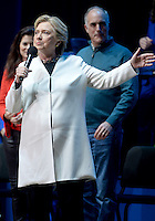 PHILADELPHIA, PA - NOVEMBER 5: Democratic Presidential nominee Hillary Clinton pictured at the Katy Perry, Get Out The Vote Concert in support of Hillary Clinton at Mann Center For Performing Arts in Philadelphia, Pa on November 5, 2016. Credit: Dennis Van Tine/MediaPunch