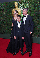 Angelina Jolie, Brad Pitt & Maddox attend the 5th Governors Awards - Los Angeles