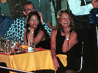 FILE PHOTO/ February/2001. Dalia Soto del Valle (R) smile with their son Alexander (L) and a unidentified friend during the event Habanos SA, in the Tropicana Cabaret, in The Habana. Soto del Valle, 60 years old and she have shared the last 40 years with Fidel Castro. She have to with Castro five children, Alexis, Alex, Alexander, Antonio and Angel. Credit: Jorge Rey/MediaPunch