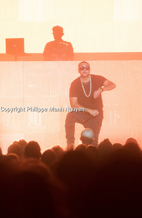 Sean Paul perform at the Olympia in Montreal, March 13,2016.<br /> <br /> Photo : Philippe Manh Nguyen<br />  - Agence Quebec Presse