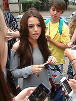 Cher Lloyd at the ITV London Studios 21 July
