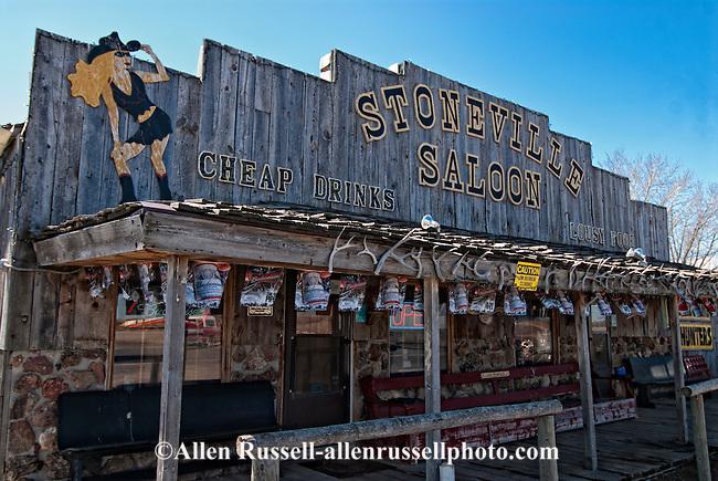 Stoneville Saloon, Alzada, Montana