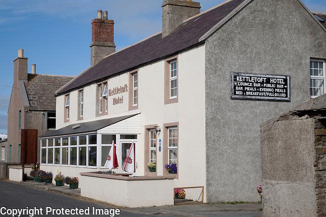 Kettletoft Hotel, Isle of Sanday, Orkney Islands, Scotland