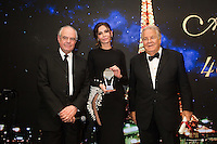 Fr&eacute;d&eacute;ric Mitterrand, Lola Karimova-Tillyyaeva &amp; Massimo Gargia : &quot; The Best &quot; 40th Edition &agrave; l'h&ocirc;tel George V.<br /> France, Paris, 27 janvier 2017.<br /> ' The Best ' 40th Edition at the George V hotel in Pais.<br /> France, Paris, 27 January 2017