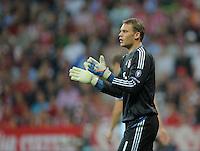 FUSSBALL   CHAMPIONS LEAGUE   SAISON 2011/2012     27.09.2011 FC Bayern Muenchen - Manchester City Torwart Manuel Neuer (FC Bayern Muenchen)